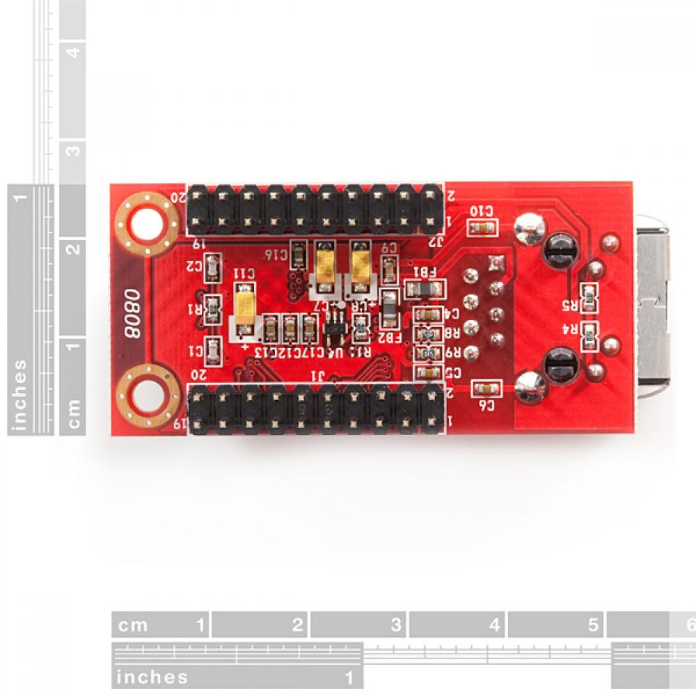 Сетевой модуль WIZnet W5100 - коннектор Mag Jack - WIZ811MJ