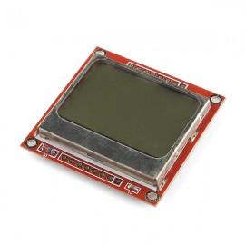 Графический дисплей 84x48 Nokia 5110 LCD (Arduino)