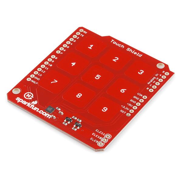 Touch Shield c кнопками-цифрами для Arduino