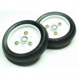 2.3 дюйма набор колес 2 шт для платформы Arduino