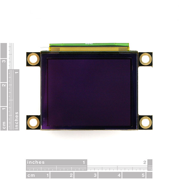 Дисплей Serial Miniature OLED - 1.7