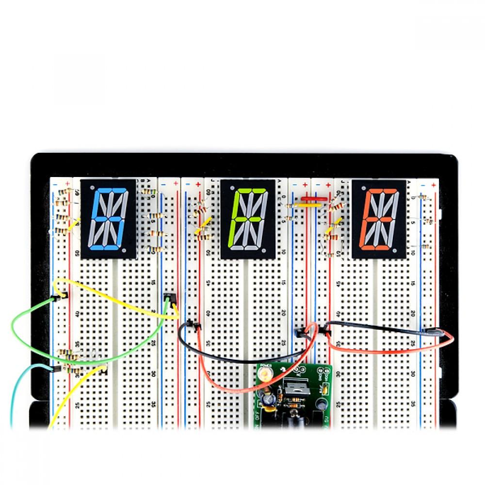 1 дюйм зелено-желтый цифровой LCD дисплей Arduino