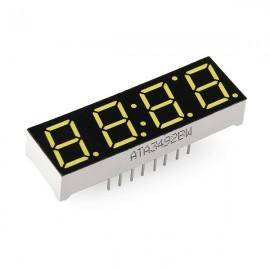Белый 4-разрядный 7-segment дисплей для Arduino