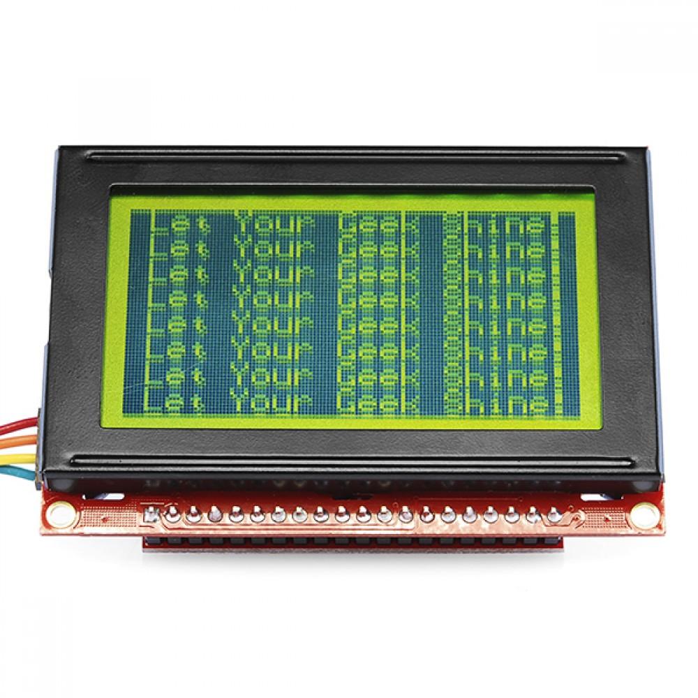 Экран Serial Graphic LCD 128x64