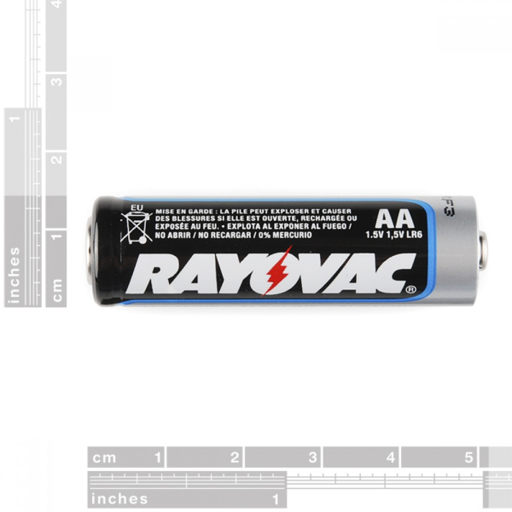 Аккумулятор 1500 mAh щелочной - AA
