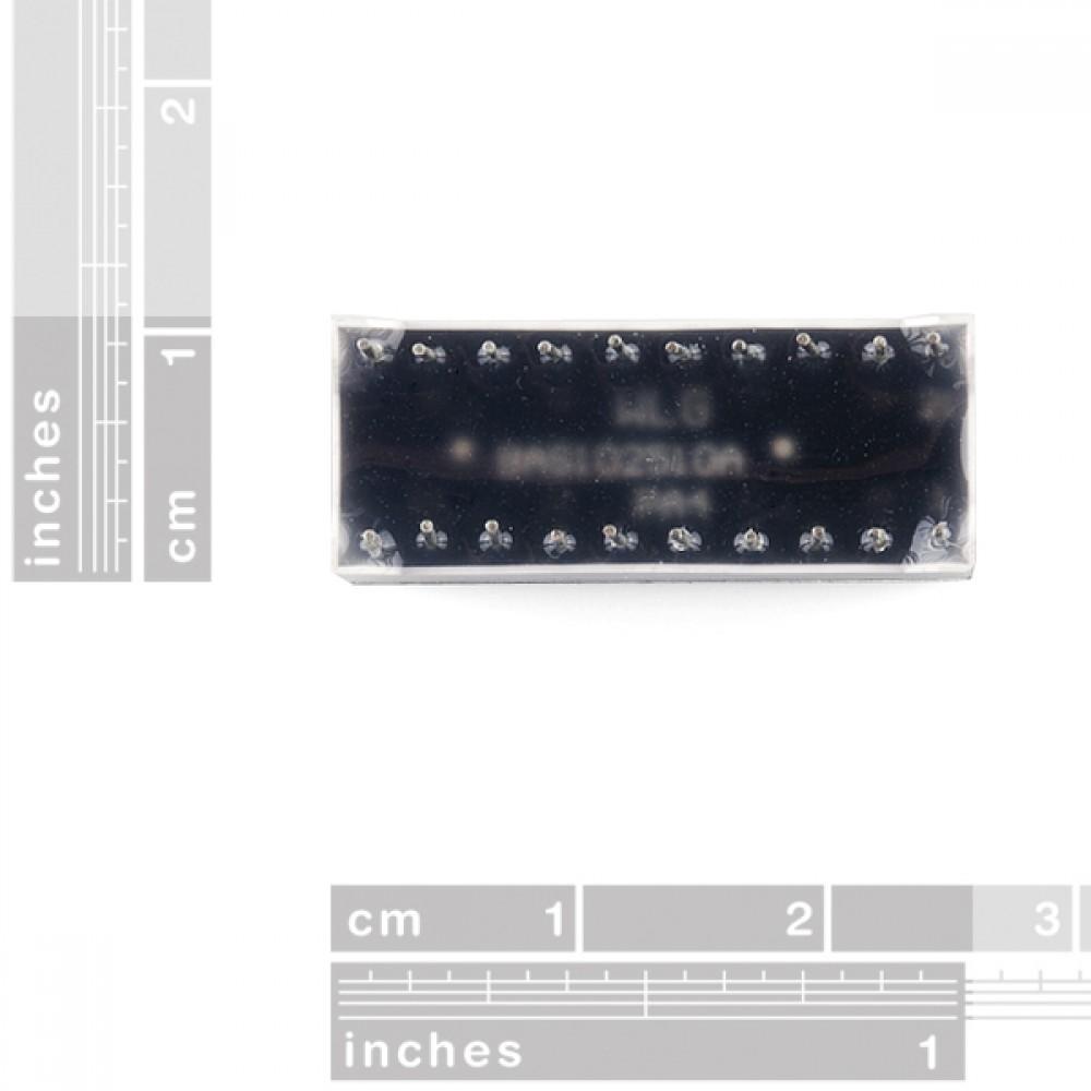 Красный 10segment LED прогресс бар для Arduino
