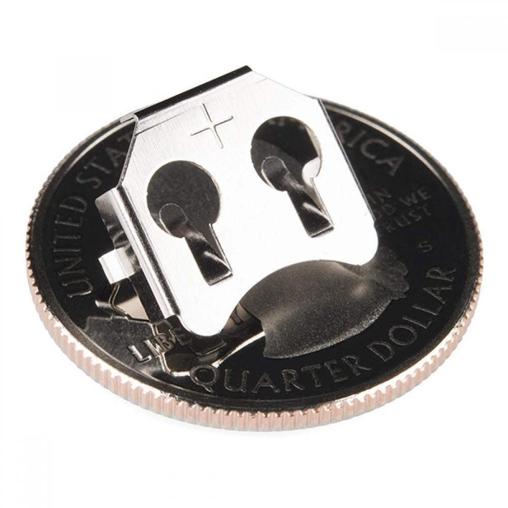 Держатель для батарейки-таблетки -12 мм (РТН)
