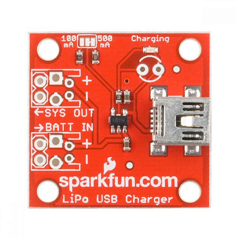 USB-зарядка и аккумулятор LiPo - розничная версия