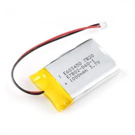 Литий-полимерный аккумулятор - 1000 мАч