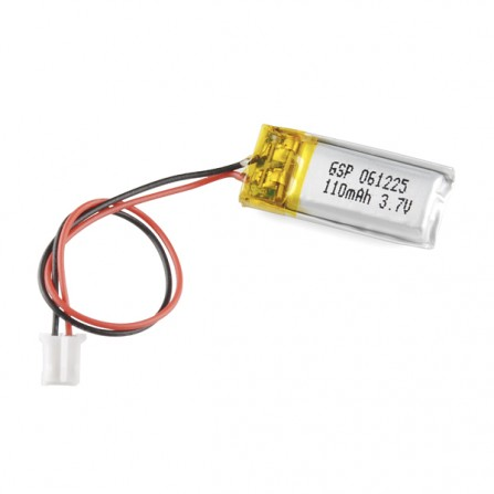 Литий-полимерный аккумулятор - 110 мАч