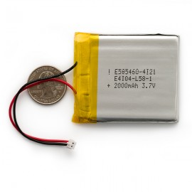 Литий-полимерный аккумулятор - 2000 мАч