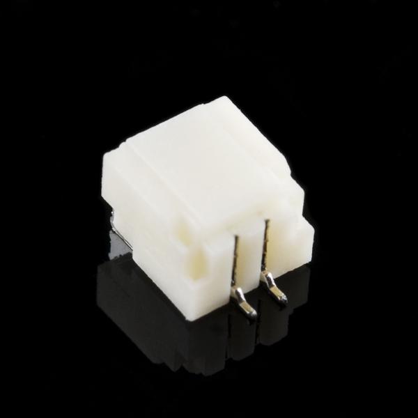 Коннектор 1,0 мм горизонтальный - 2-пиновый