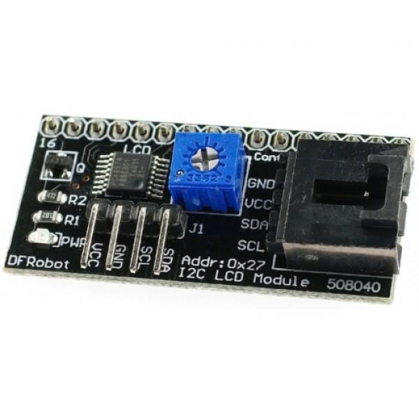 Задняя часть дисплея IIC LCD Backpack для Arduino