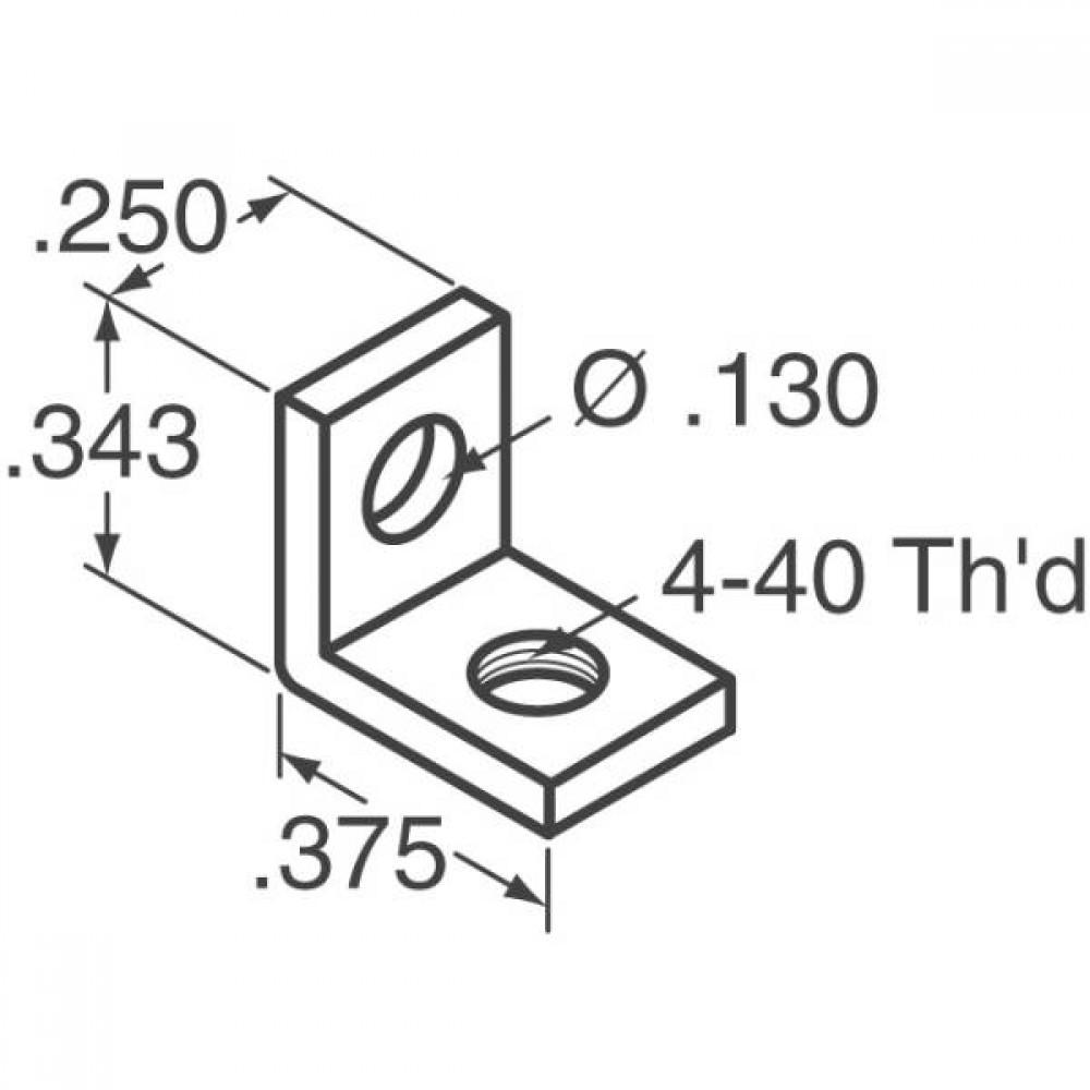 Скоба прямоугольная - 4-40