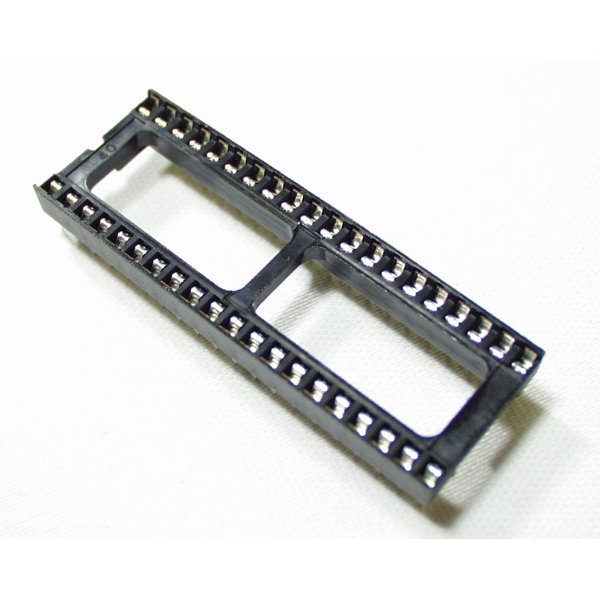 Разъем DIP Sockets Solder Tail - 40-Pin 0.3