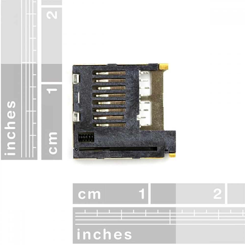 Разъем microSD для Transflash