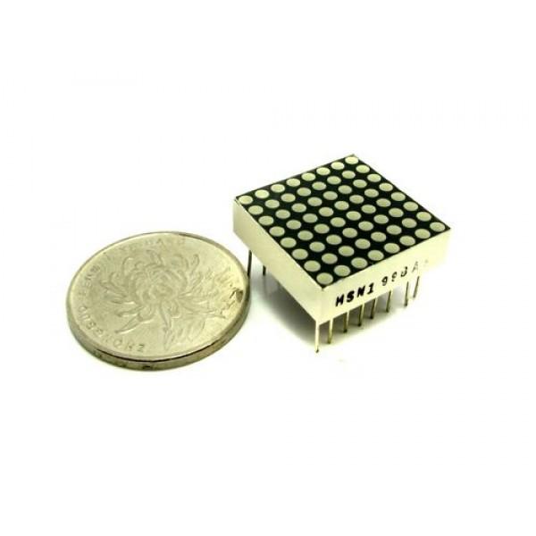Матрица 20mm 8*8 LED красная для Arduino