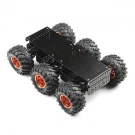Шасси Wild Thumper 6WD - черное (передаточное число 34:1)