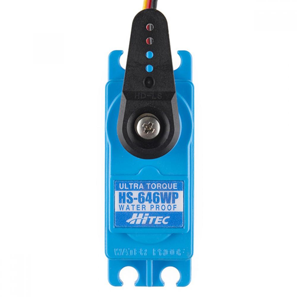 Сервопривод - Hitec HS-646WP (стандартный размер)