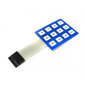 Мембранные кнопки клавиатура 4X3 для Arduino