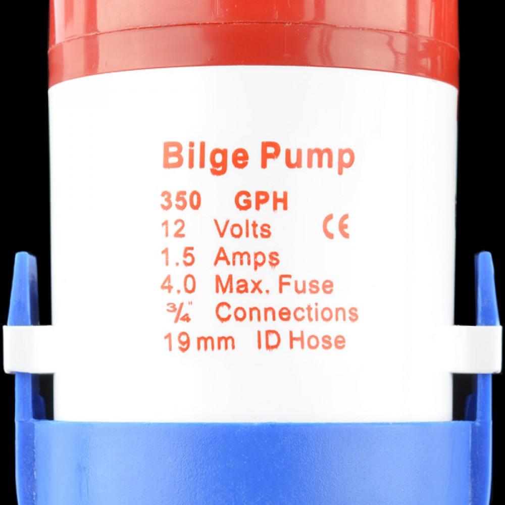 Насос для жидкостей - 350GPH (12v)