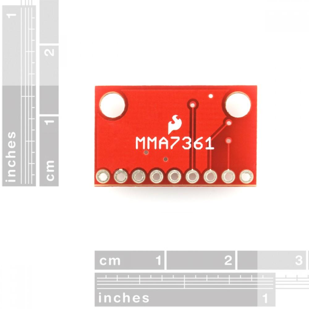 Разветвитель к трехосевому акселерометру - MMA7361