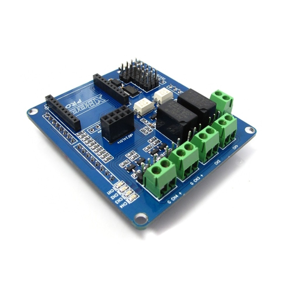 Плата реле IS Shield v1.0 relay для Arduino и Xbee