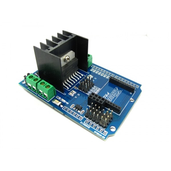Motor Shield MotoMama L298N H-Bridge для Arduino