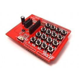 Кнопки клавиатура Keypad shield для LCD (Arduino)