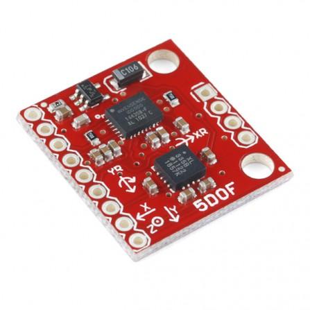 IMU 5-осевой гироскоп IDG500 ADXL335 для Arduino