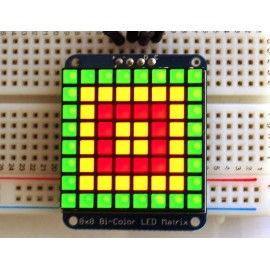 Adafruit Bicolor LED квадратная матрица с I2C Backpack Оригинал