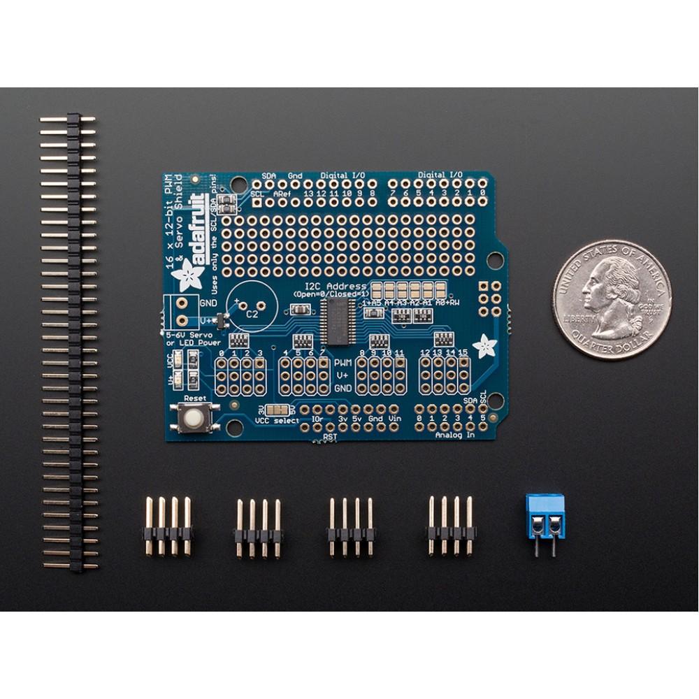 16-Channel 12-bit PWM/Servo Shield - I2C interface для Arduino