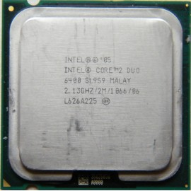 Intel Core 2 Duo E6400 2.13 GHz/2 Mb/1066 (SL9S9) s775