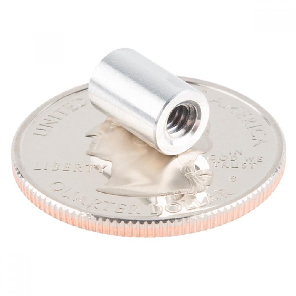 Упор - алюминиевый (6-32; 9,525 мм, 4 штуки)