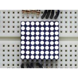 LED-матрица Miniature Ultra-Bright 8x8 White LED Matrix