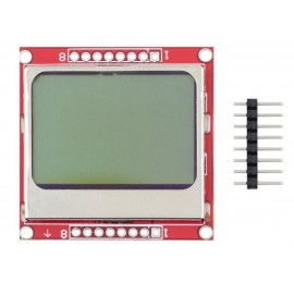 Графический дисплей 84x48  для Nokia 5110 LCD (Arduino совместимый)