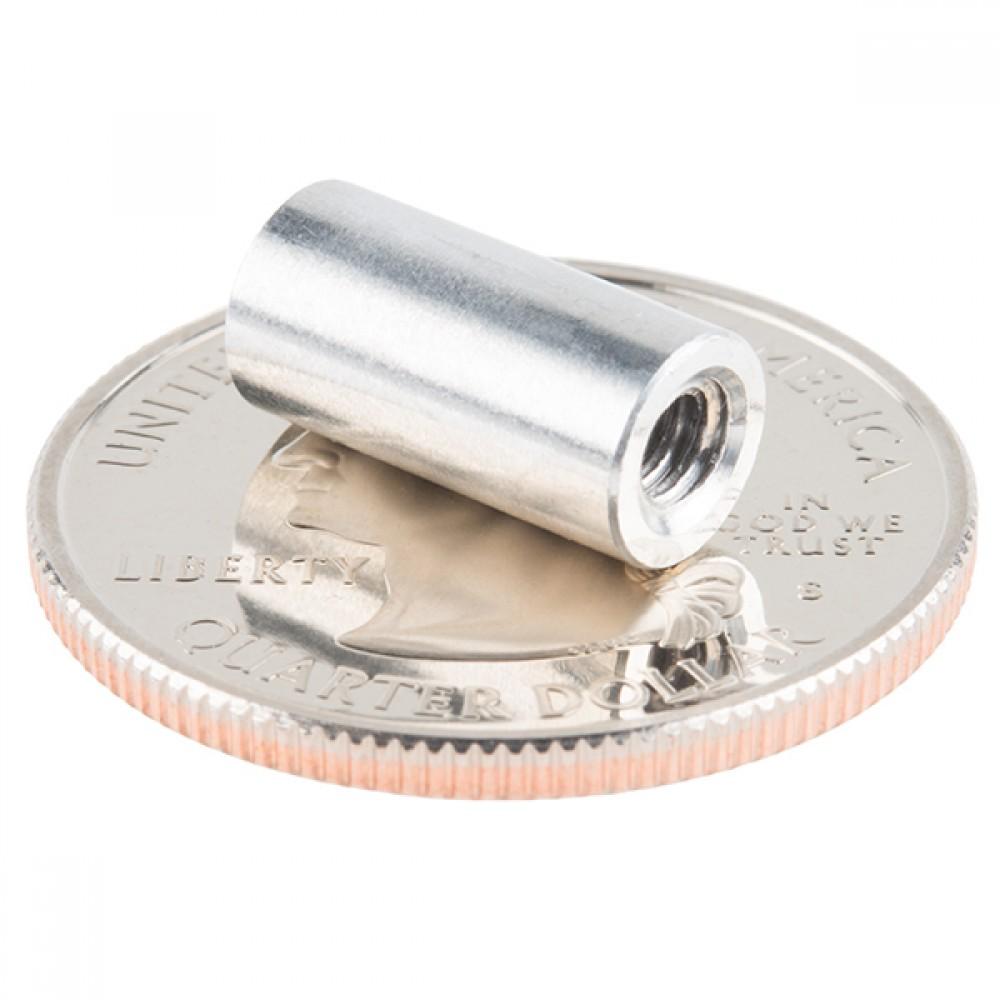 Упор - алюминиевый (6-32; 12,7 мм, 4 штуки)