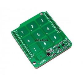 Sprite Touch Shield c кнопками-цифрами для Arduino