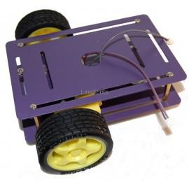Платформа для Arduino Robot (2+1 колесо, 2 мотора)