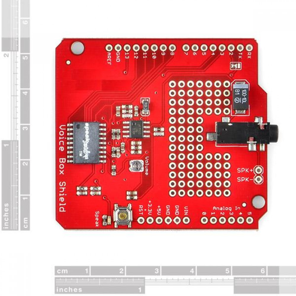 Voice Box Shield Голосовая почта для Arduino