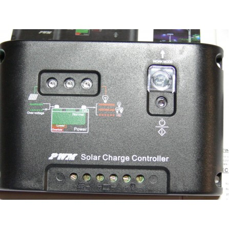 12/24V 10A контроллер зарядки 150/300W солнечная