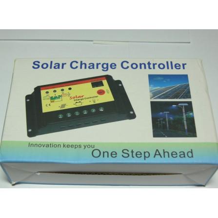 10A 12/24V контроллер зарядки Time/light солнечная