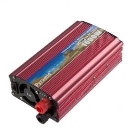 Инвертор DC 12V -AC 220V 1000W к солнечная батарея