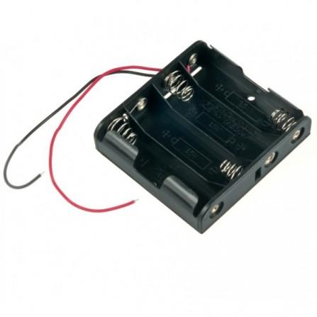 4xAA Держатель батареи для Arduino
