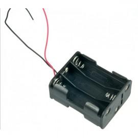 6xAA Держатель батареи двухсторонний для Arduino