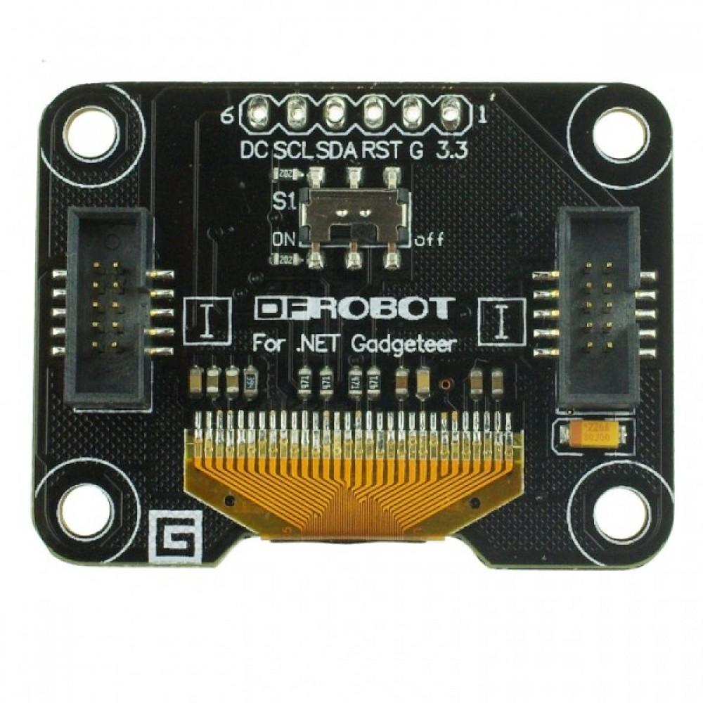 OLED 2864 дисплей-модуль NET Gadgeteer Arduino