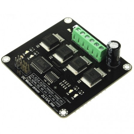 2 x 15A Lite DC Motor драйвер для Arduino DRI0018