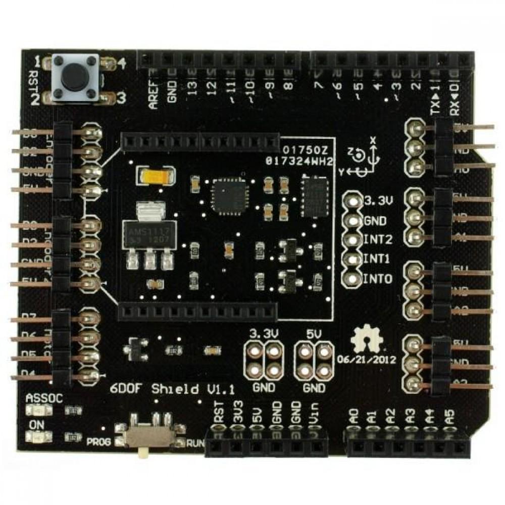 6 DOF IMU шилд к Arduino для гироскопов