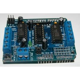 Шилд мотора L293D для Arduino (на 4 устройства)