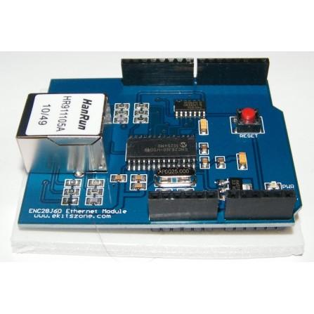 ENC28J60 Ethernet Shield for Arduino